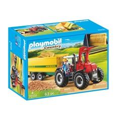 PLAYMOBIL Country 70131 - Grote tractor met aanhangwagen