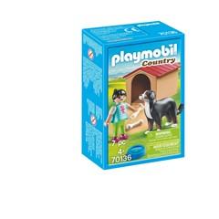PLAYMOBIL Country 70136 - Jongen met hond