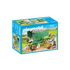 PLAYMOBIL Country 70138 - Kind met kippenhok