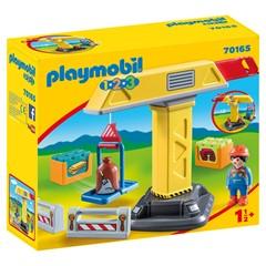 PLAYMOBIL 1.2.3 70165 - Bouwkraan