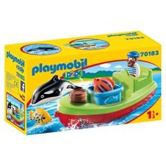 PLAYMOBIL 1.2.3 70183 - Vissersboot