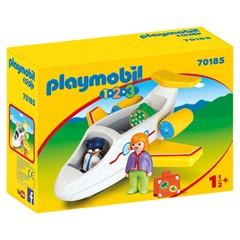PLAYMOBIL 1.2.3 70185 - Vliegtuig