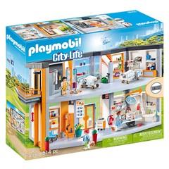 PLAYMOBIL City Life 70190 - Groot Ziekenhuis met Inrichting