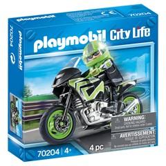 PLAYMOBIL City Life 70204 - Motorrijder