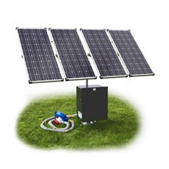 Poortman type 100 plas-draspomp op zonne-energie