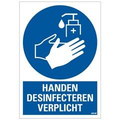 Pickup Bord Handen Desinfecteren Verplicht 230 x 330 MM