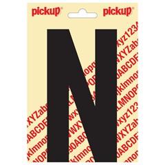 Pickup Plakletter Nobel 150mm Zwart N