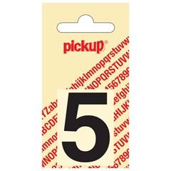 Pickup Plakcijfer Helvetica 40 mm Zwart 5