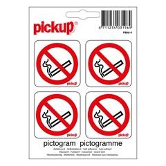 Pickup Pictogram 10x10cm Verboden Te Roken