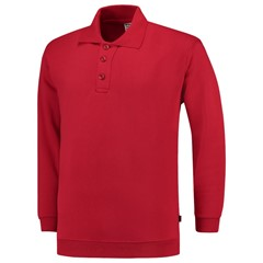 Tricorp Polosweater Boord Rood