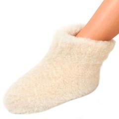 Woolwarmer Sloffen Wol Wit