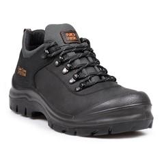 No Risk Werkschoenen Greystone S3 Zwart/Grijs