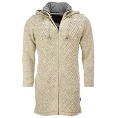 Pure Wool Vest WJK-1709 Ecru