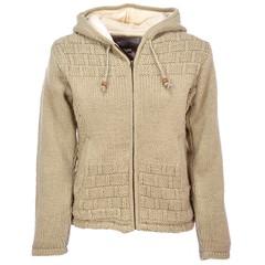 Pure Wool Vest WNL-1705 Ecru
