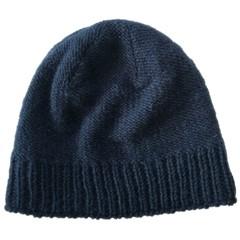 Pure Wool Muts Gevoerd PA1904 Blauw One Size