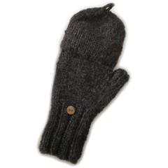 Pure Wool Wanten Gevoerd PA1910 Antraciet One Size