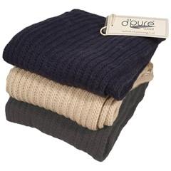 Pure Wool Sjaal PA1915 Blauw One Size