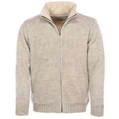 Pure Wool Vest MNL-1703 Ecru
