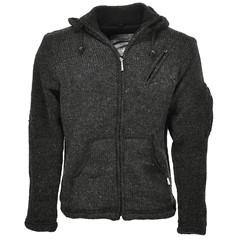 Pure Wool Vest WJK-1323 Antraciet