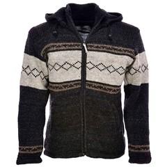 Pure Wool Vest WJK-1313 Antraciet