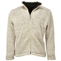 Pure Wool Vest WJK-1502 Ecru