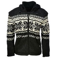Pure Wool Vest WJK-1301 Antraciet