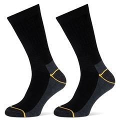 Stapp Sokken Worker 2-Pack Zwart