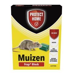 Frap Block Protect Home tegen Muizen - 6 x 15 Gram
