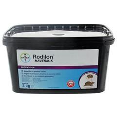 Rodilon Havermix (Gepelde Haver) tegen Muis en Rat - 3 Kg