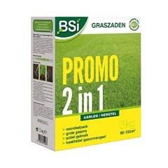 BSI Graszaad Promo 2 in 1 Gazon - 3 Kg