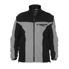 Hydrowear Jack Fleece Toptex Kingston Zwart/Grijs