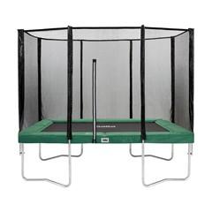 Salta Trampoline Combo Rechthoekig Groen - 150 x 215 cm