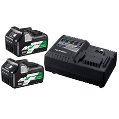 HiKOKI UC18YSL3 Multi Volt Batterijpack Met 2 Batterijen & Snellader