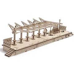 Ugears Modelbouw - Trein station