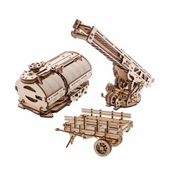 Ugears Modelbouw - Truck UGM-11 Uitbreidingen