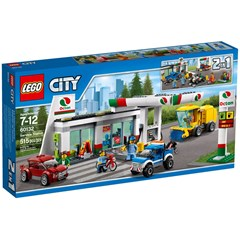 LEGO City 60132 - Benzinestation
