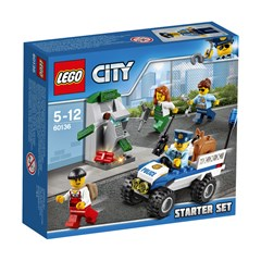 LEGO City 60136 - Politie starterset
