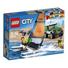 LEGO City 60149 - 4x4 met catamaran