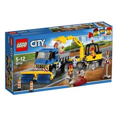 LEGO City 60152 - Veeg- en Graafmachine
