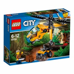 LEGO City 60158 - Jungle vrachthelikopter