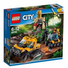 LEGO City 60159 - Jungle missie met halfrupsvoertuig