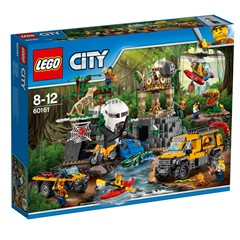 LEGO City 60161 - Jungle onderzoekslocatie