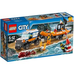 LEGO City 60165 - 4x4 Reddingsvoertuig