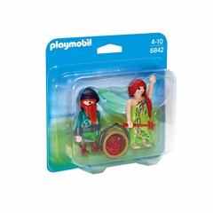 PLAYMOBIL Fairies 6842 - Duopack Elf en Dwerg