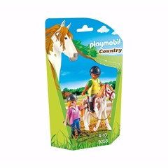 PLAYMOBIL Country 9258 - Paardrijinstructrice