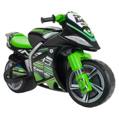 Injusa Loopmotor Kawasaki Zwart/Groen - 99 cm