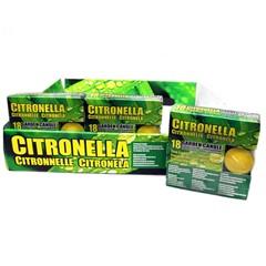 Citronella Waxinelichtjes 18 Stuks