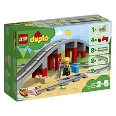 LEGO DUPLO 10872 - Treinbrug en -rails