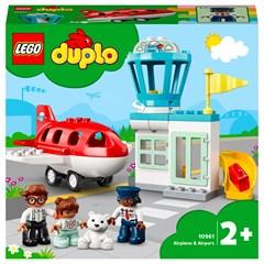 LEGO DUPLO 10961 - Vliegtuig & Vliegveld