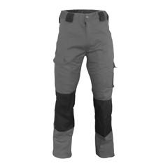 De Boer Werkbroek pol/kat grijs/zwart